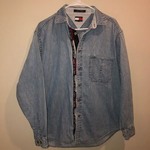 Tommy Hilfiger tommy Jeans Denim Button up Shirt